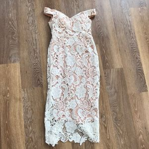 Misguided Lace dress
